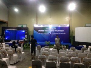 sewa backdrop di solo