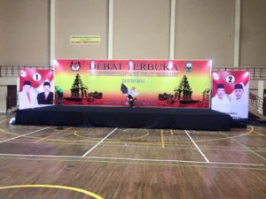 vendor backdrop murah