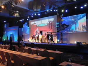 Backdrop Video Mapping