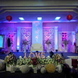 dekorasi pernikahan indoor di solo